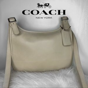 VINTAGE COACH Leather Crossbody Bag